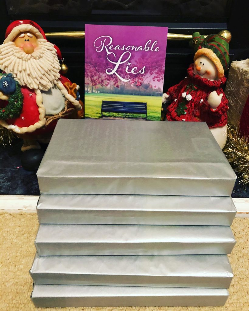 Five Signed copies of Reasonable Lies