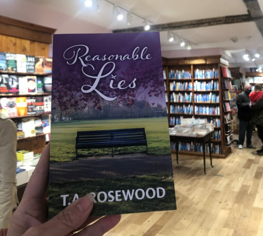 Harts Books Store to stock Reasonable Lies in Saffron Walden